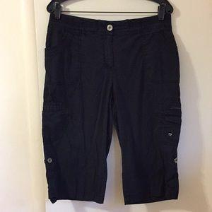 Chico's shorts Size 1.5 Black